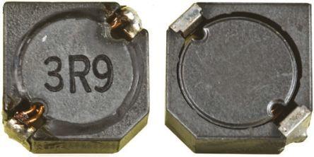 Panasonic , ELLCTV Shielded Wire-wound SMD Inductor 12 μH ±20% Wire-Wound 3.7A Idc (5)