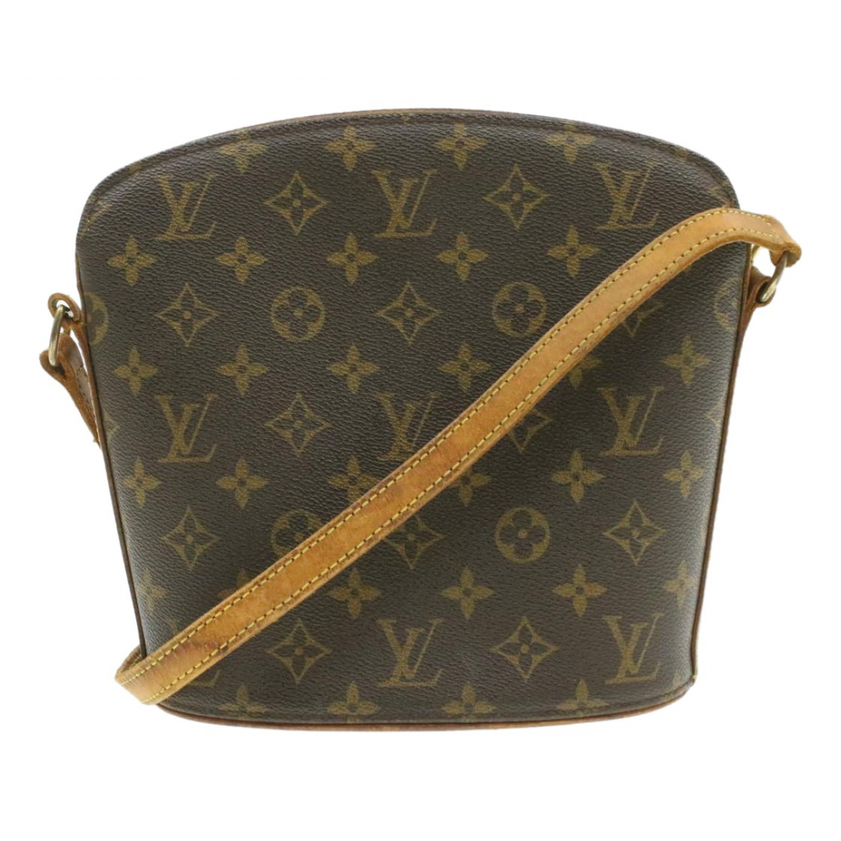 Louis Vuitton Drouot  Brown Cloth handbag for Women N
