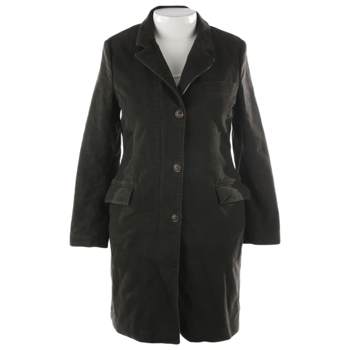 Loro Piana \N Green Cotton jacket for Women 40 FR