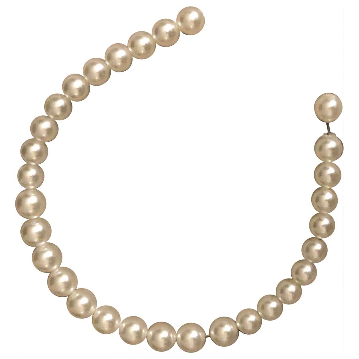 - Bijoux de tete   pour femme en metal - blanc