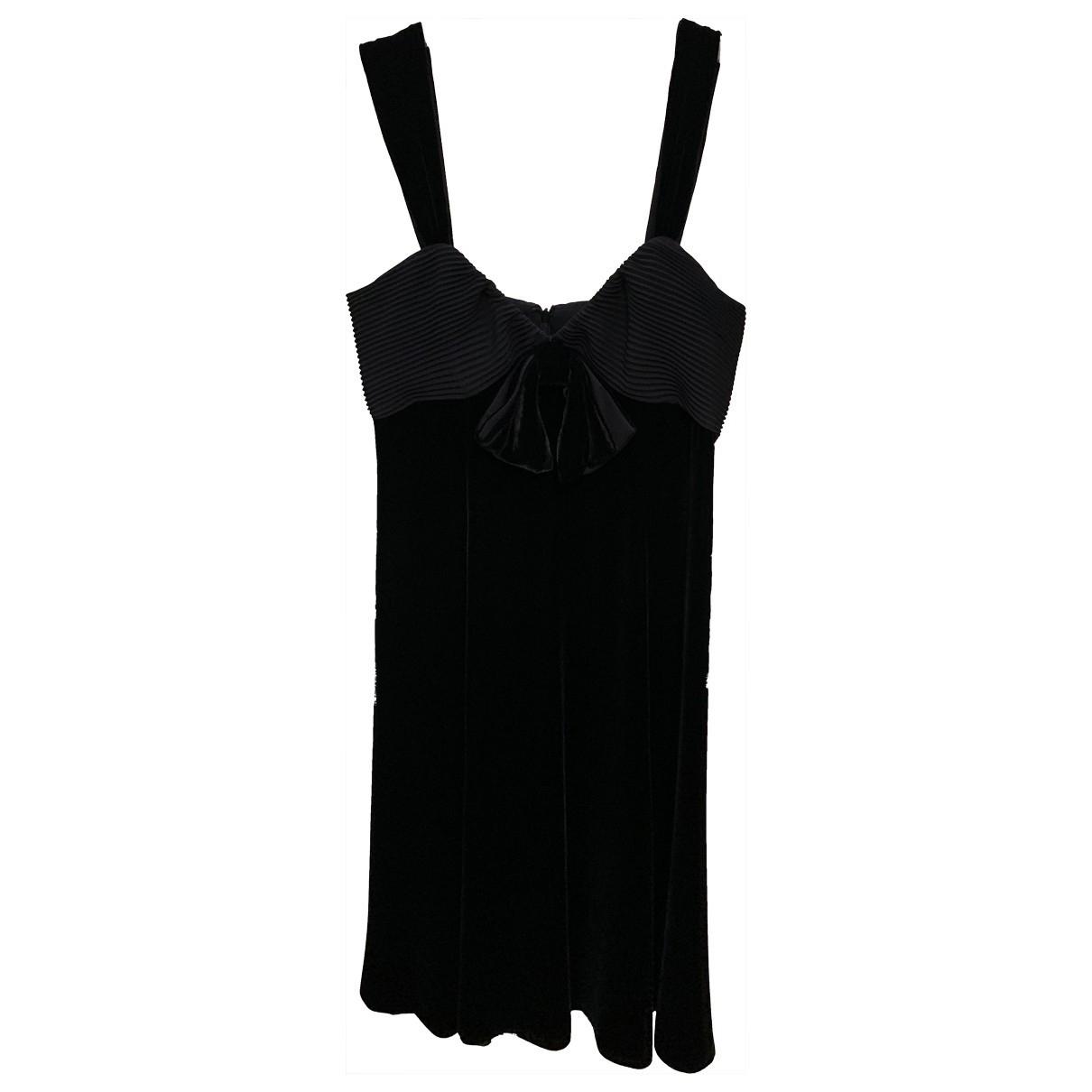 Armani Collezioni - Robe   pour femme - noir