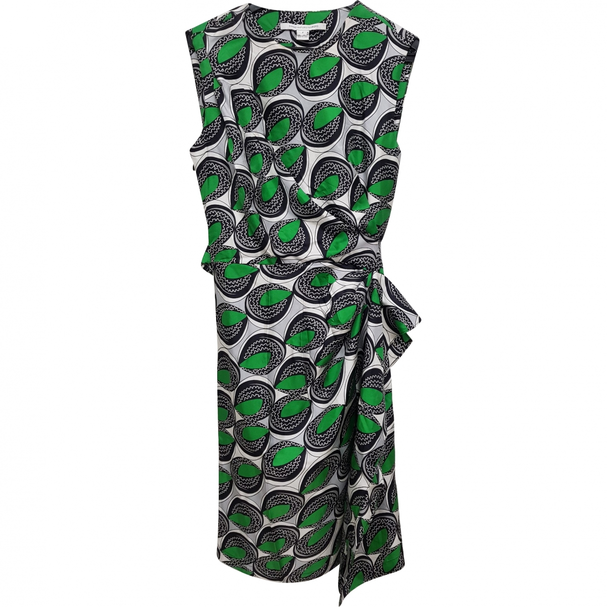 Diane Von Furstenberg \N Multicolour Silk dress for Women 6 US