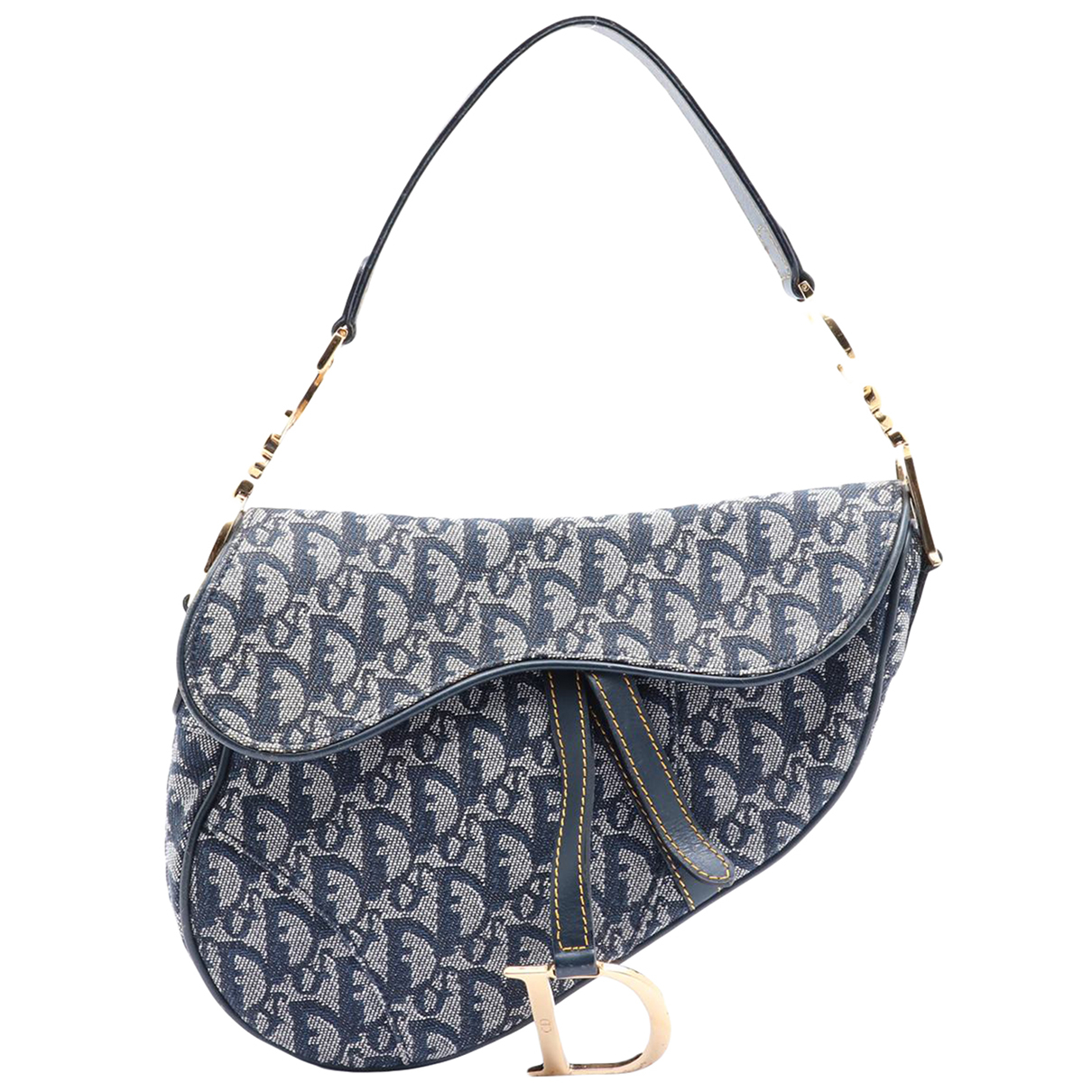 Christian Dior N Blue Cloth handbag for Women N