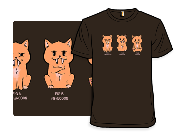 Smilodon T Shirt