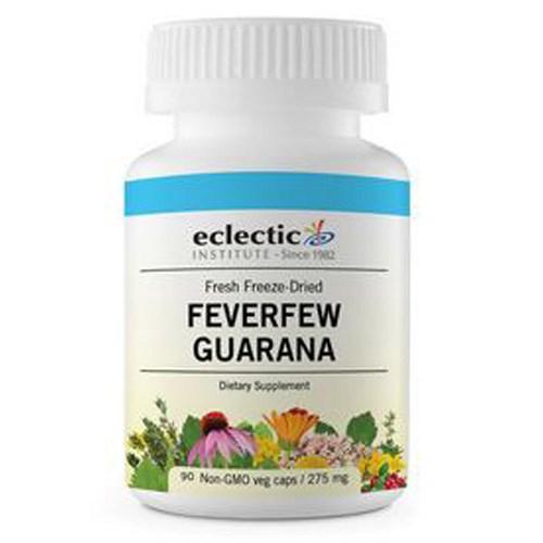 Feverfew Guarana 90 Caps by Eclectic Institute Inc