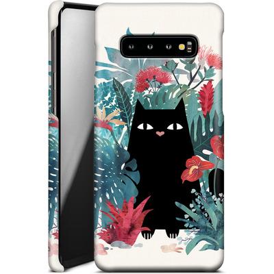 Samsung Galaxy S10 Plus Smartphone Huelle - popoki von Little Clyde