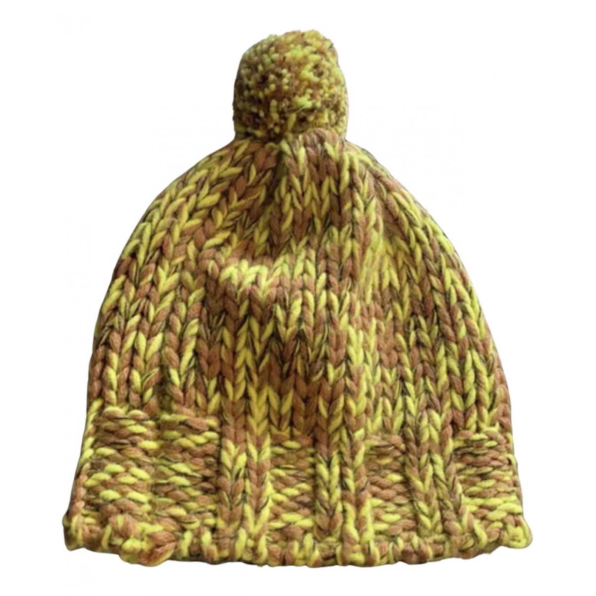 Dolce & Gabbana N Yellow Wool hat & Gloves for Kids N