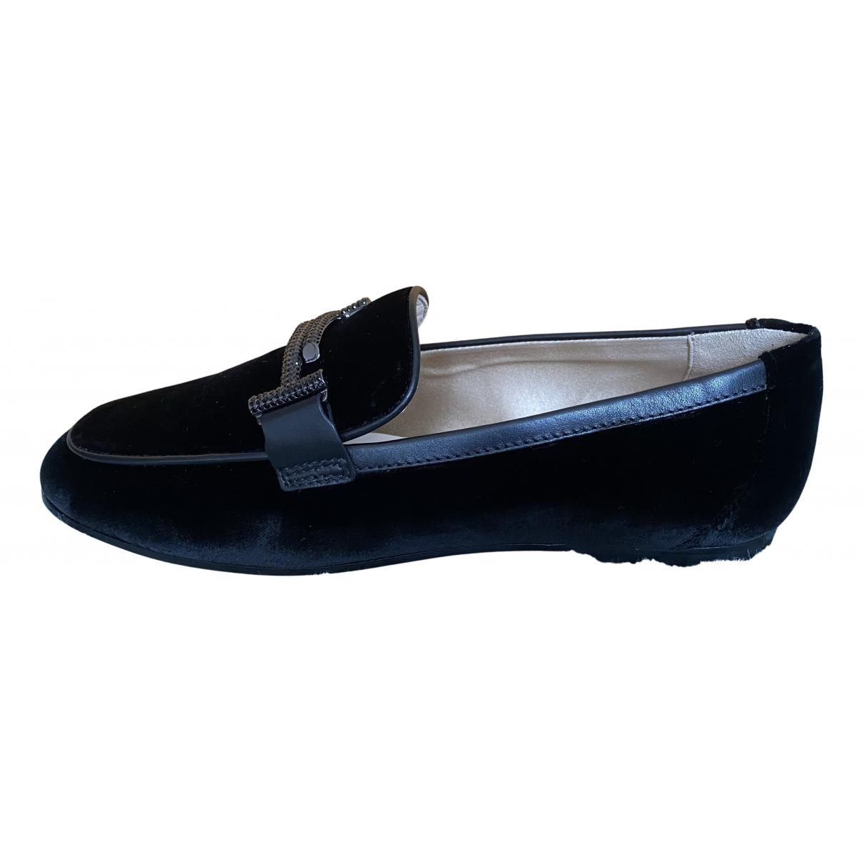 Tods - Mocassins   pour femme en velours - noir