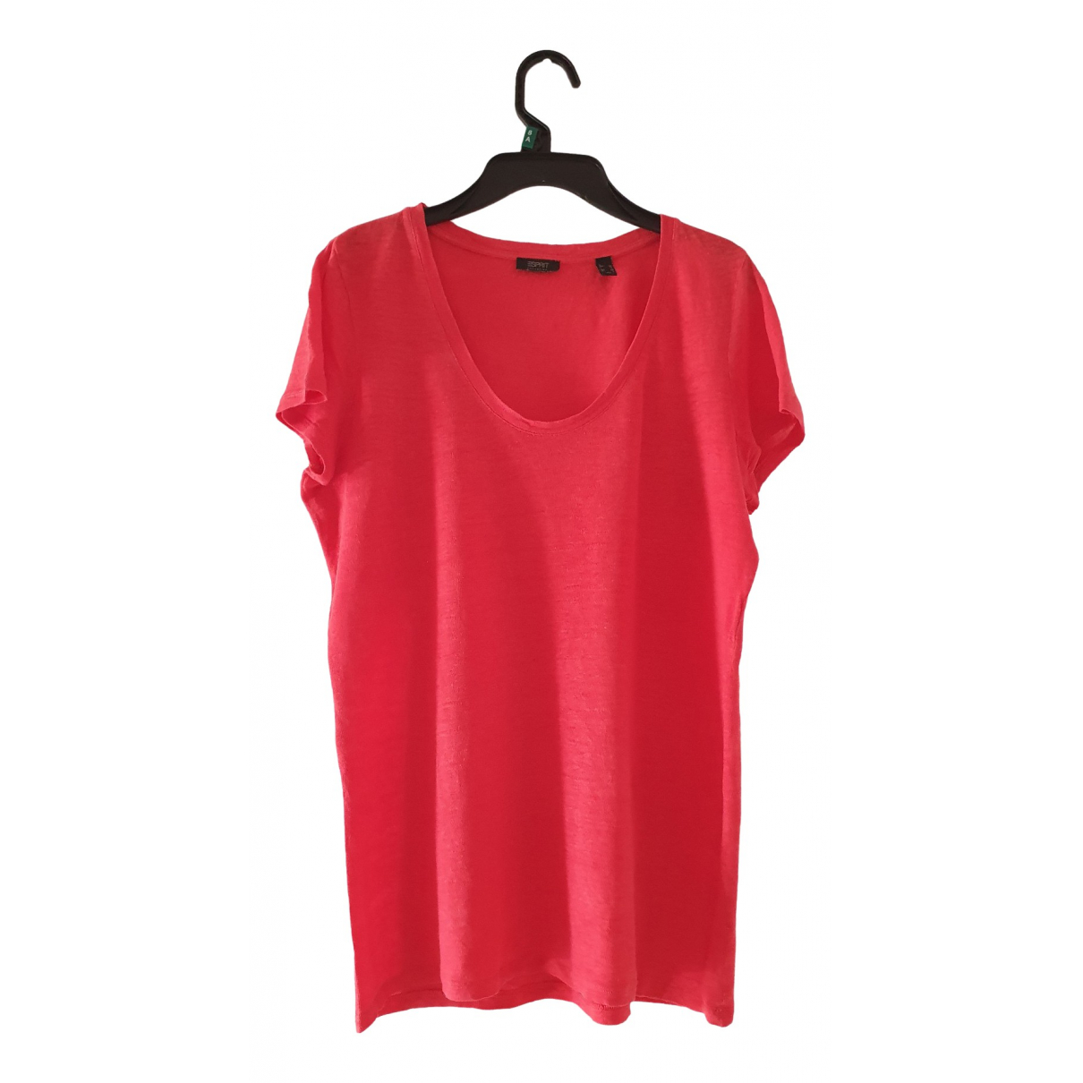 Esprit \N Red Cotton  top for Women 42 FR