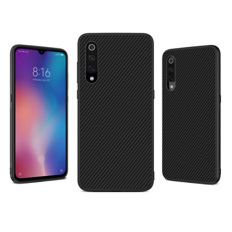 NILLKIN Synthetic Aramid Fiber Anti-Fingerprint Protective Case For Xiaomi Mi 9 / Mi9 Transparent Edition / Mi 9 Explore