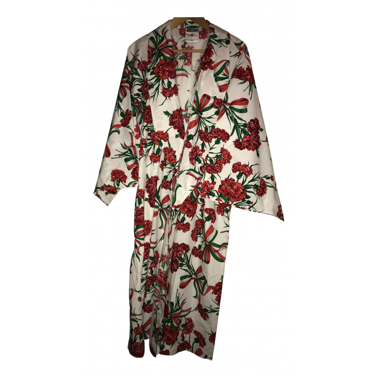 Moschino - Robe   pour femme en coton - multicolore