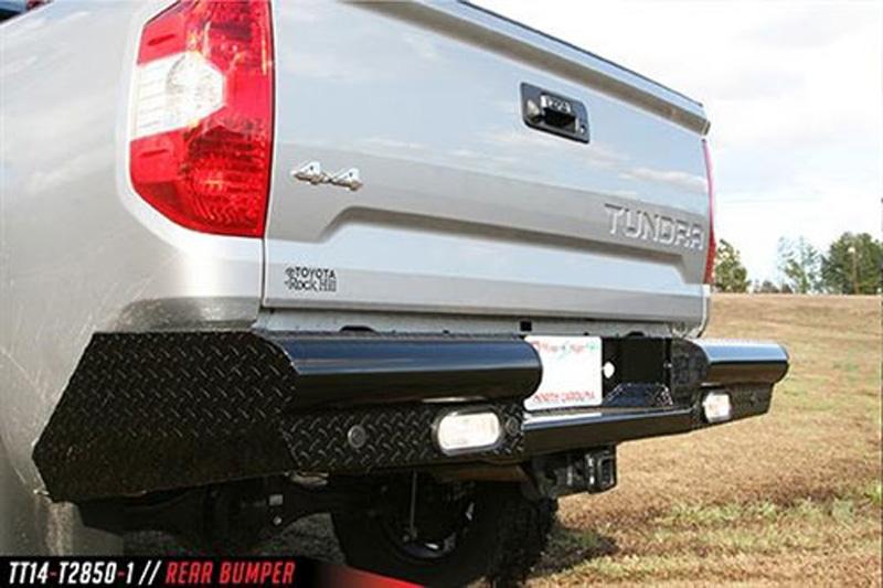 Fab Fours TT14-U2850-1 14-18 Tundra Rear Elite Ranch Bumper Bare