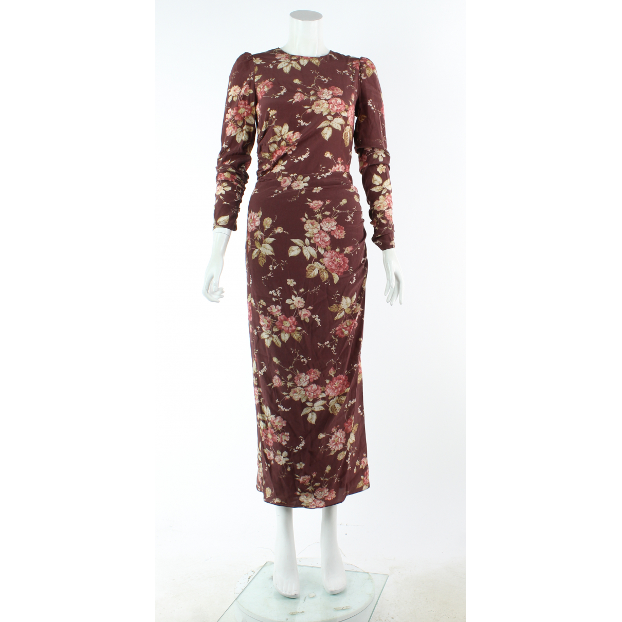 Zimmermann \N Burgundy Silk dress for Women 8 UK