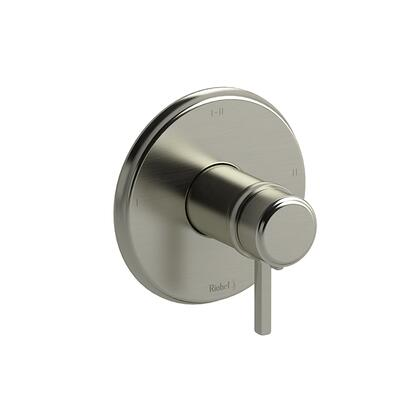 Momenti MMRD23LBN 2-Way Thermostatic/Pressure Balance Coaxial Complete Valve with Lever Handles  in Brushed