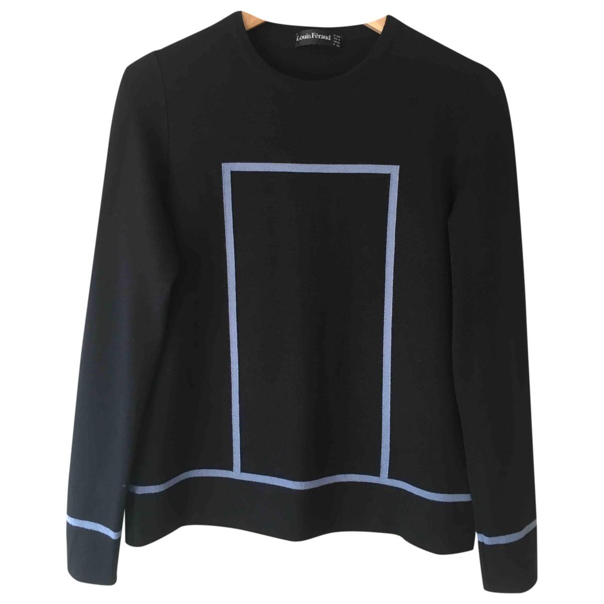 Louis Feraud \N Pullover in  Schwarz Wolle