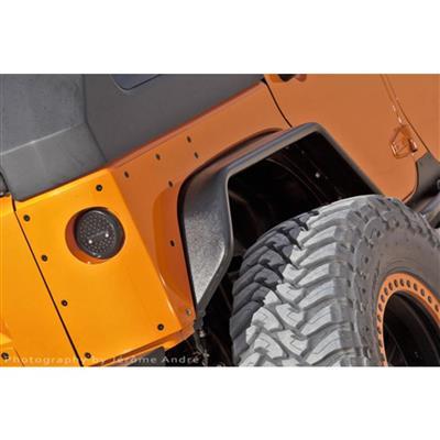 Hauk Offroad Rear Tube Fenders - ARM-3010-05BE