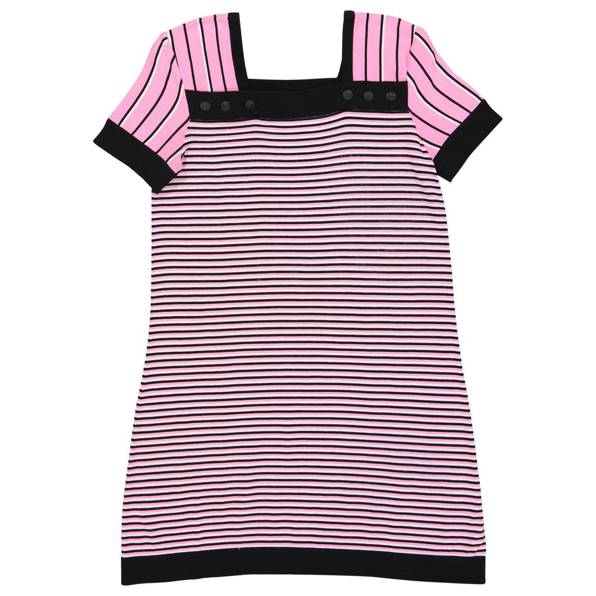 Chanel \N Kleid in  Rosa Baumwolle