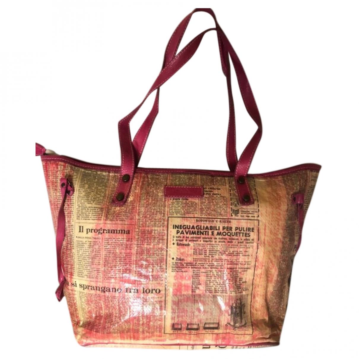Moma \N Handtasche in  Rosa Synthetik
