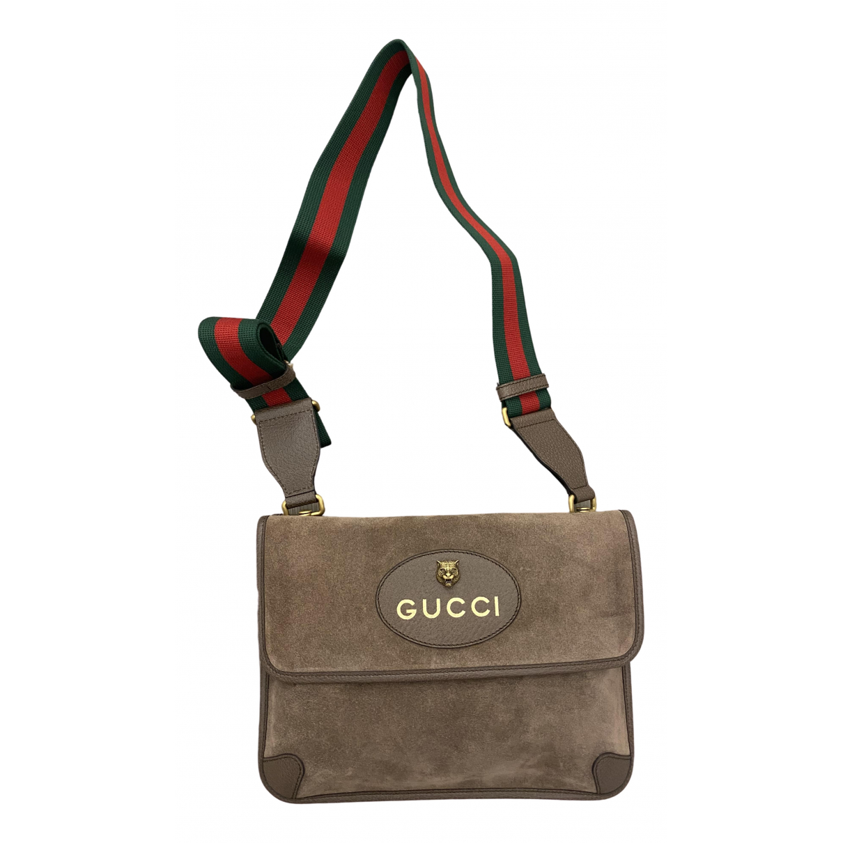 Gucci \N Brown Leather bag for Men \N