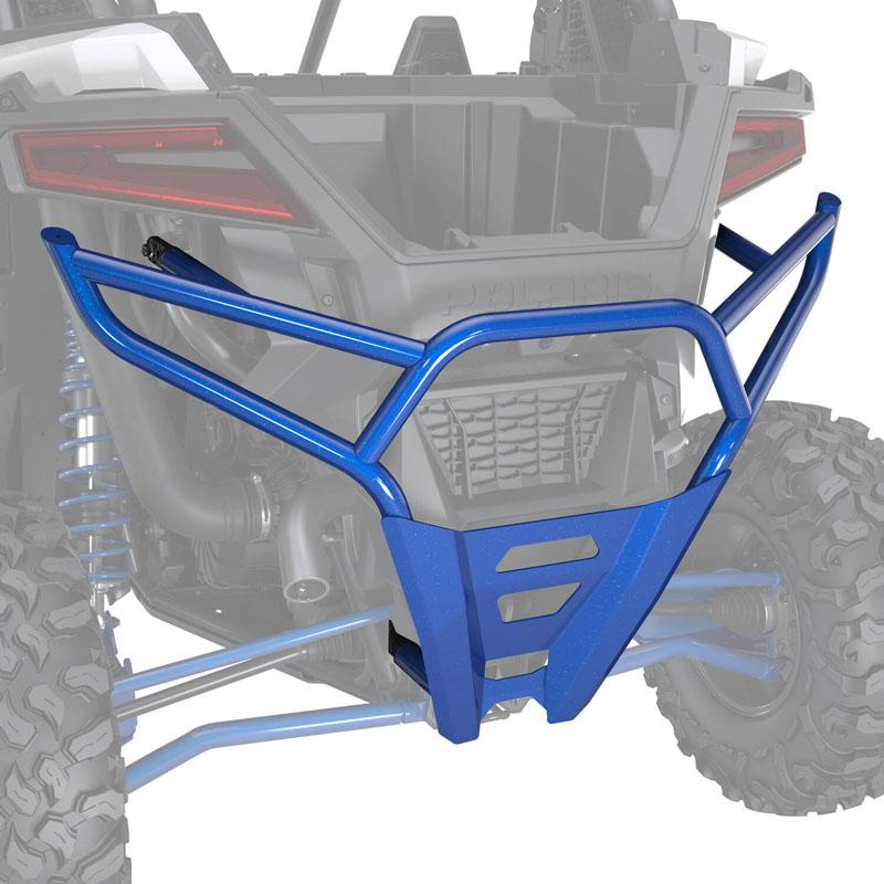 Polaris High Coverage Rear Bumper - Polaris Blue Metallic