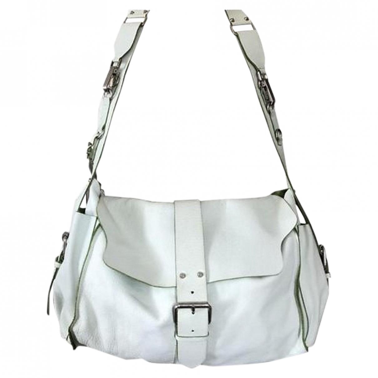 Orciani \N Handtasche in  Weiss Leder