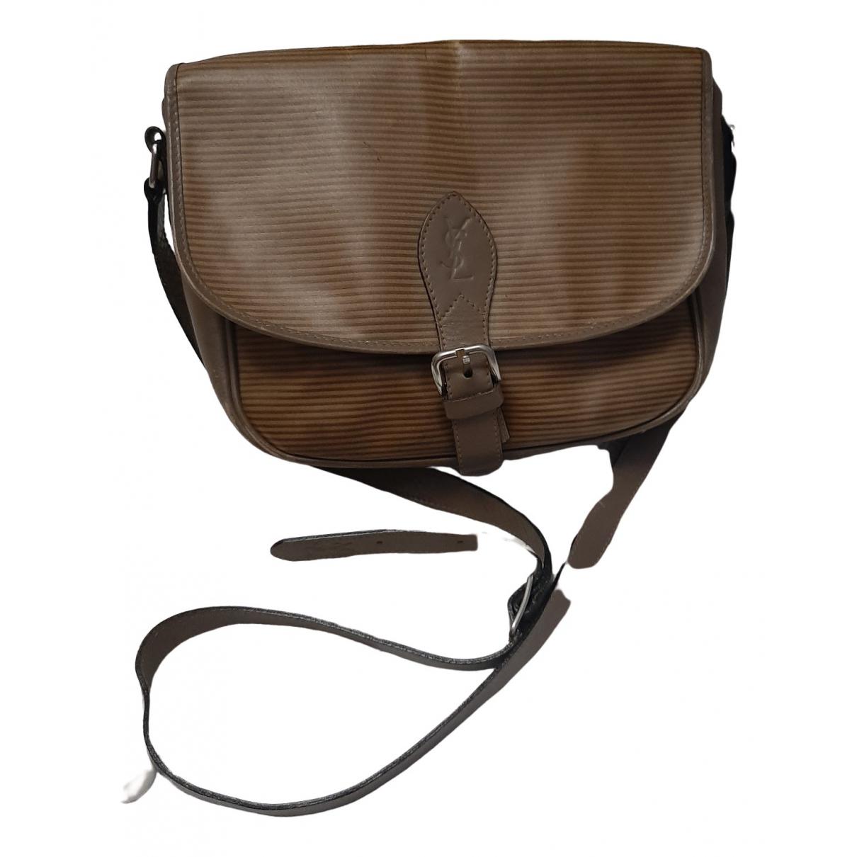 Yves Saint Laurent \N Handtasche in Leinen