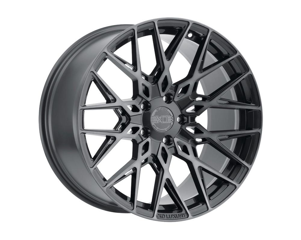 XO Luxury Phoenix Wheel 20x9 5x120 30mm Gunmetal w/ Brushed Gunmetal Face