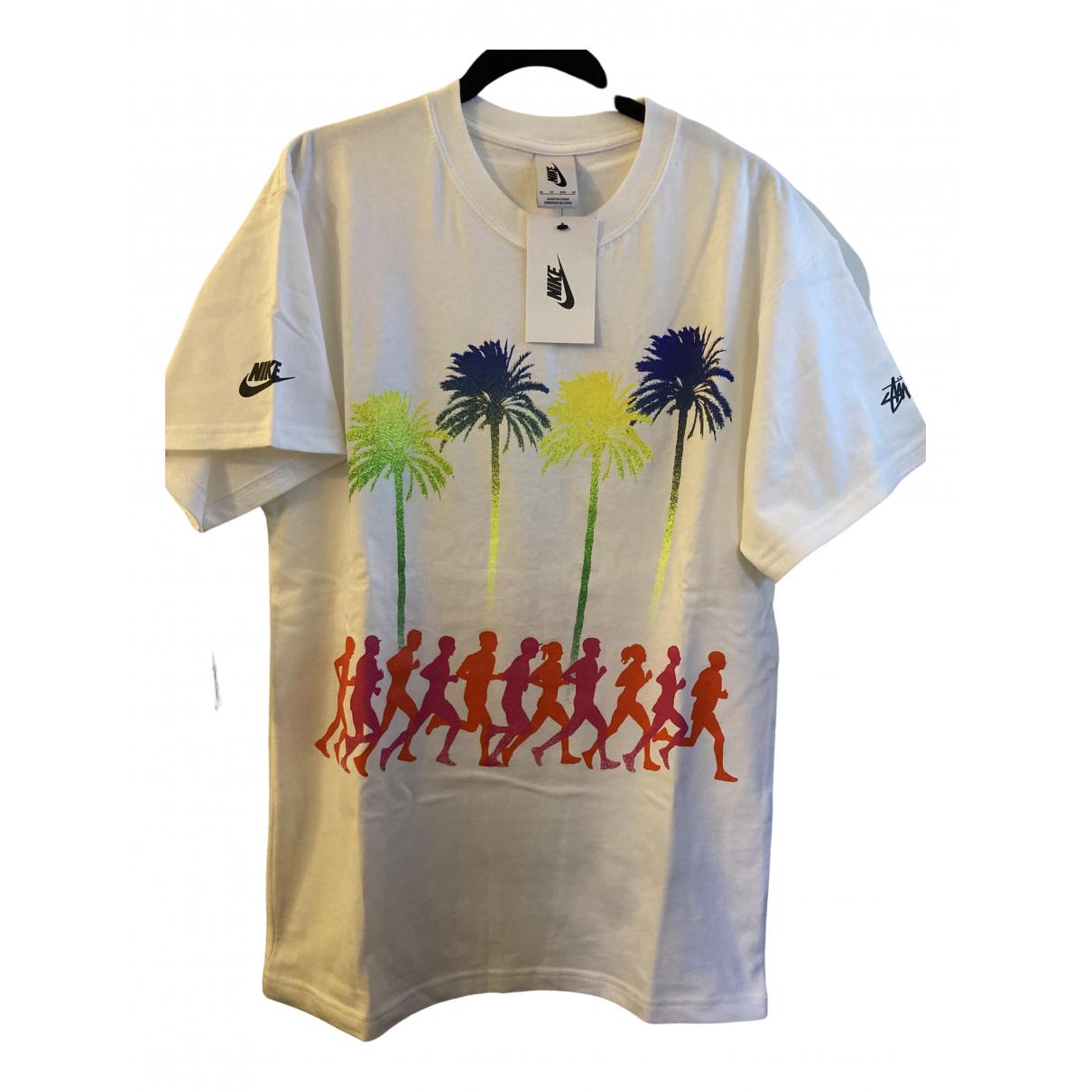 Nike X Stussy - Tee shirts   pour homme en coton - noir