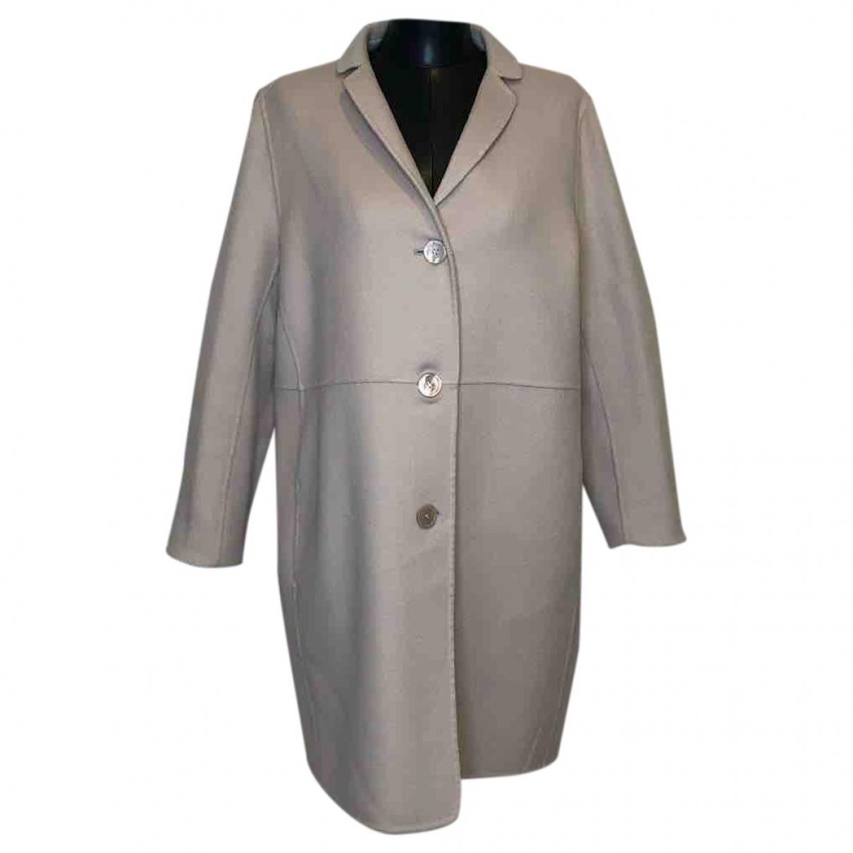 Max Mara \N Grey Wool coat for Women 44 IT