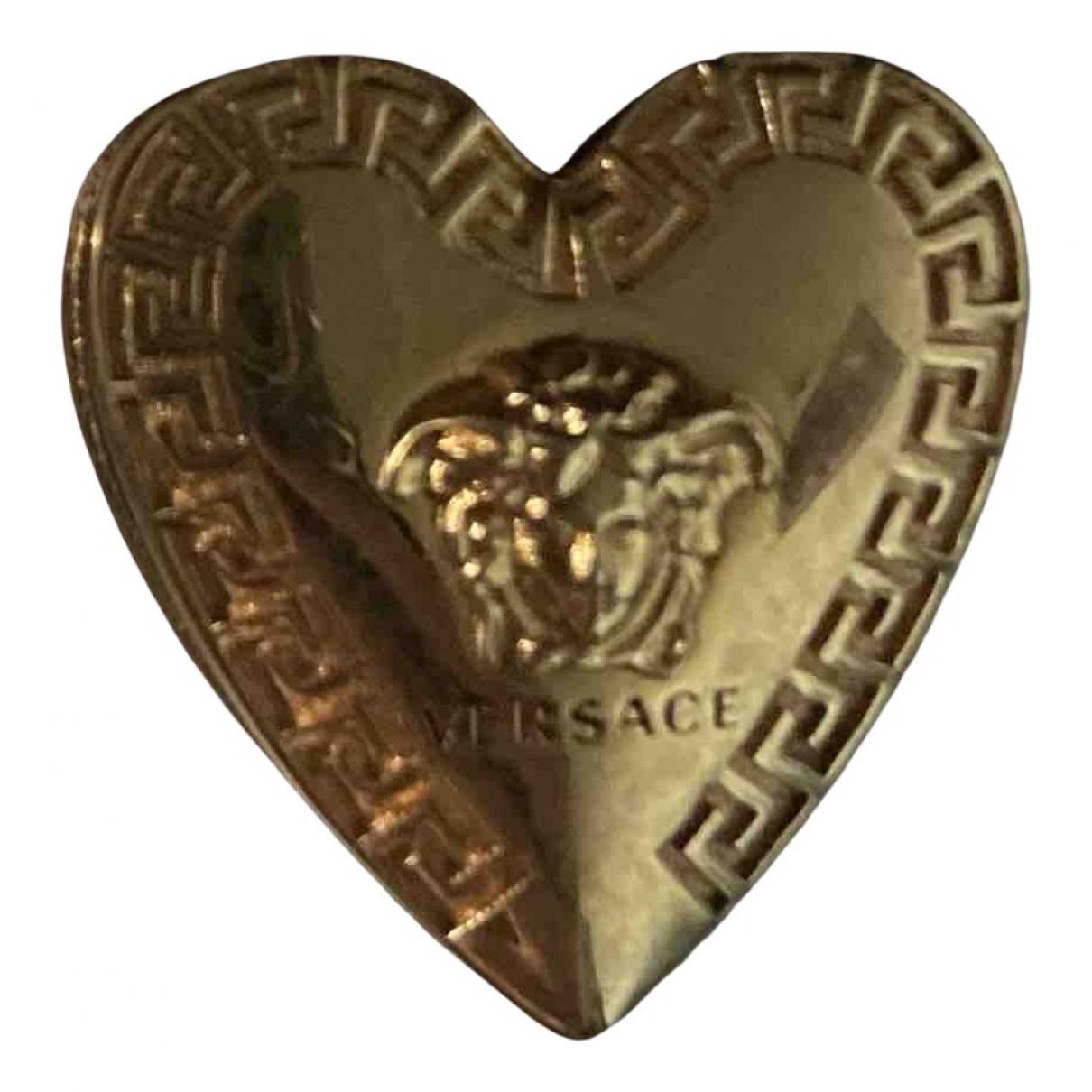Versace \N Ring in  Gold Metall