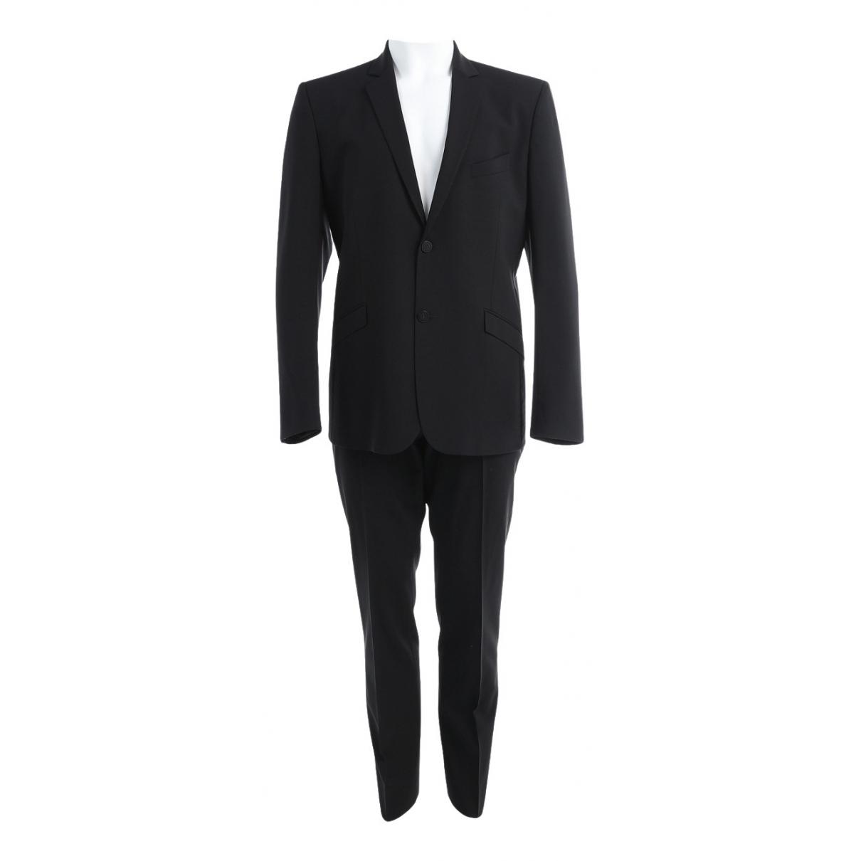 Mugler \N Black Wool Suits for Men 50 FR