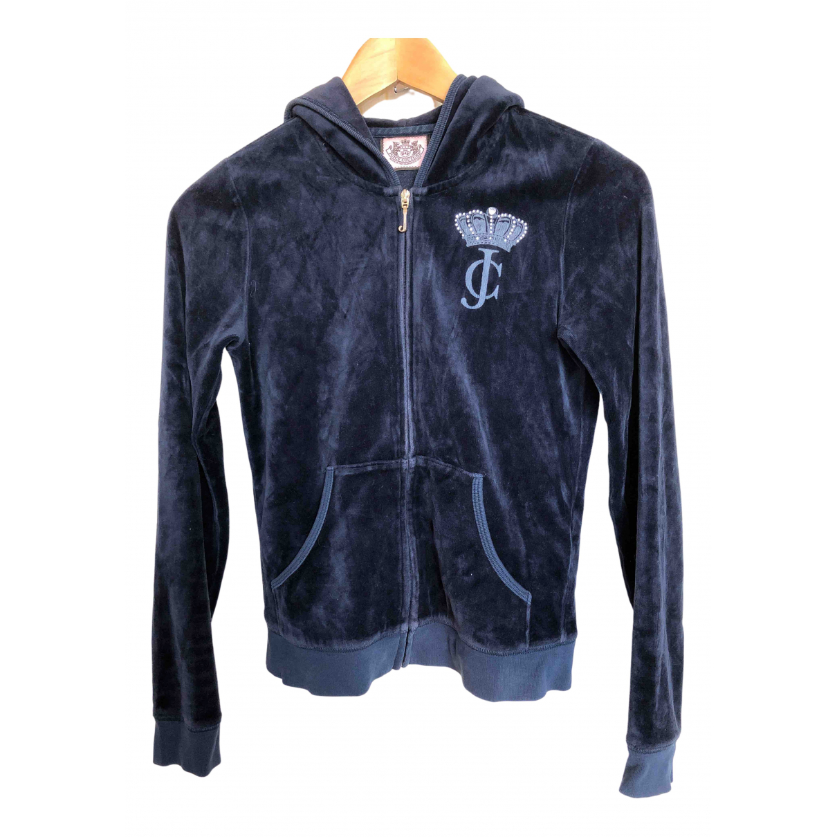 Juicy Couture \N Blue Cotton jacket for Women S International