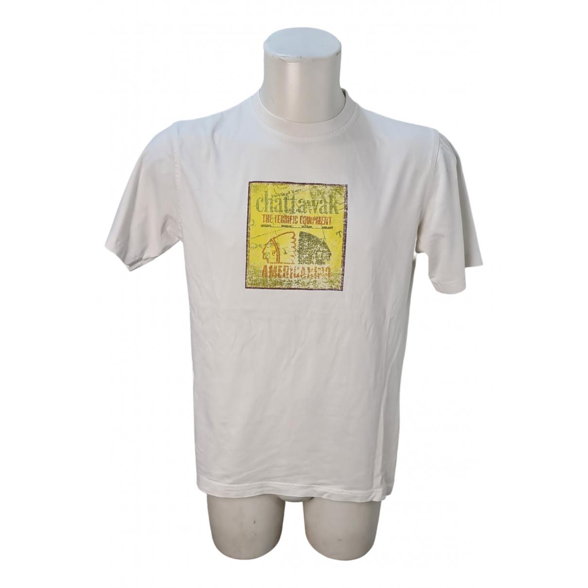 - Tee shirts   pour homme en coton - blanc