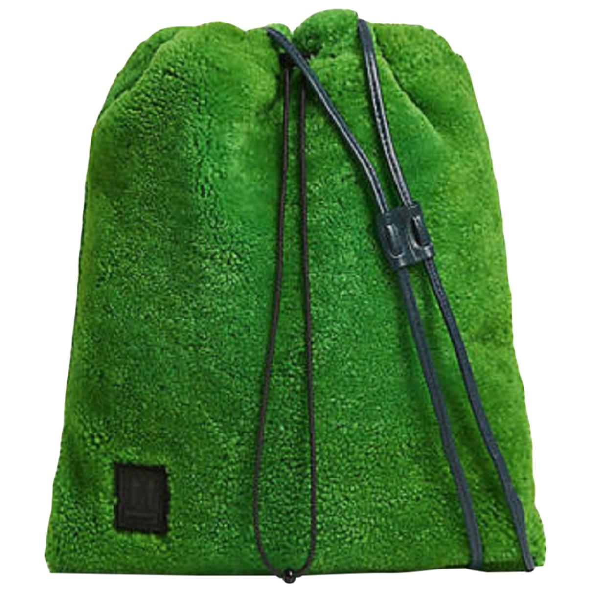Off-white \N Green bag for Men \N