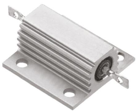 TE Connectivity THS75 Series Aluminium, Aluminium Housed Solder Lug Wire Wound Panel Mount Resistor, 47Ω ±5% 75W