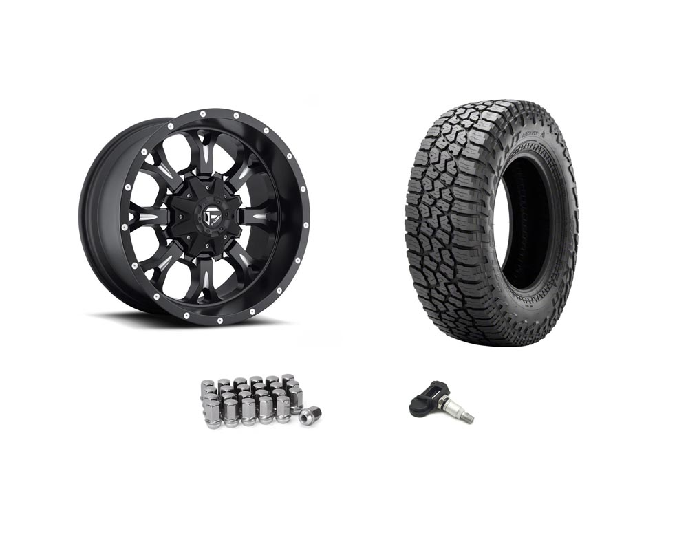 Jeep Gladiator Fuel D517 with Falken Wildpeak 35 Inch Wheel and Tire Package