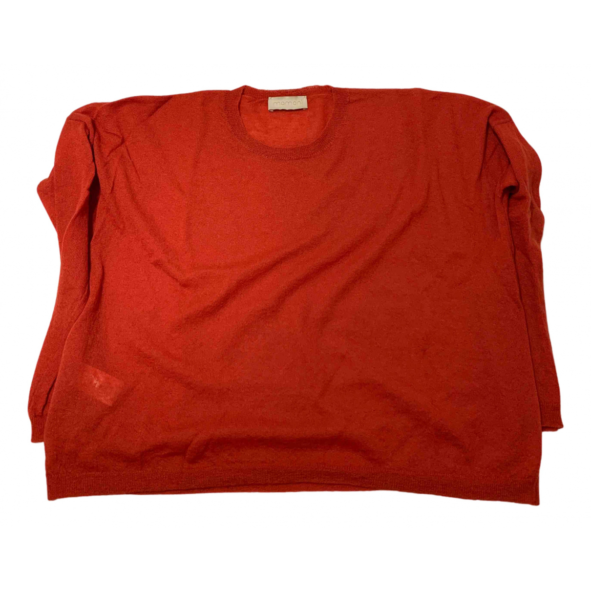 Momoni N Red Wool Knitwear for Women XS International