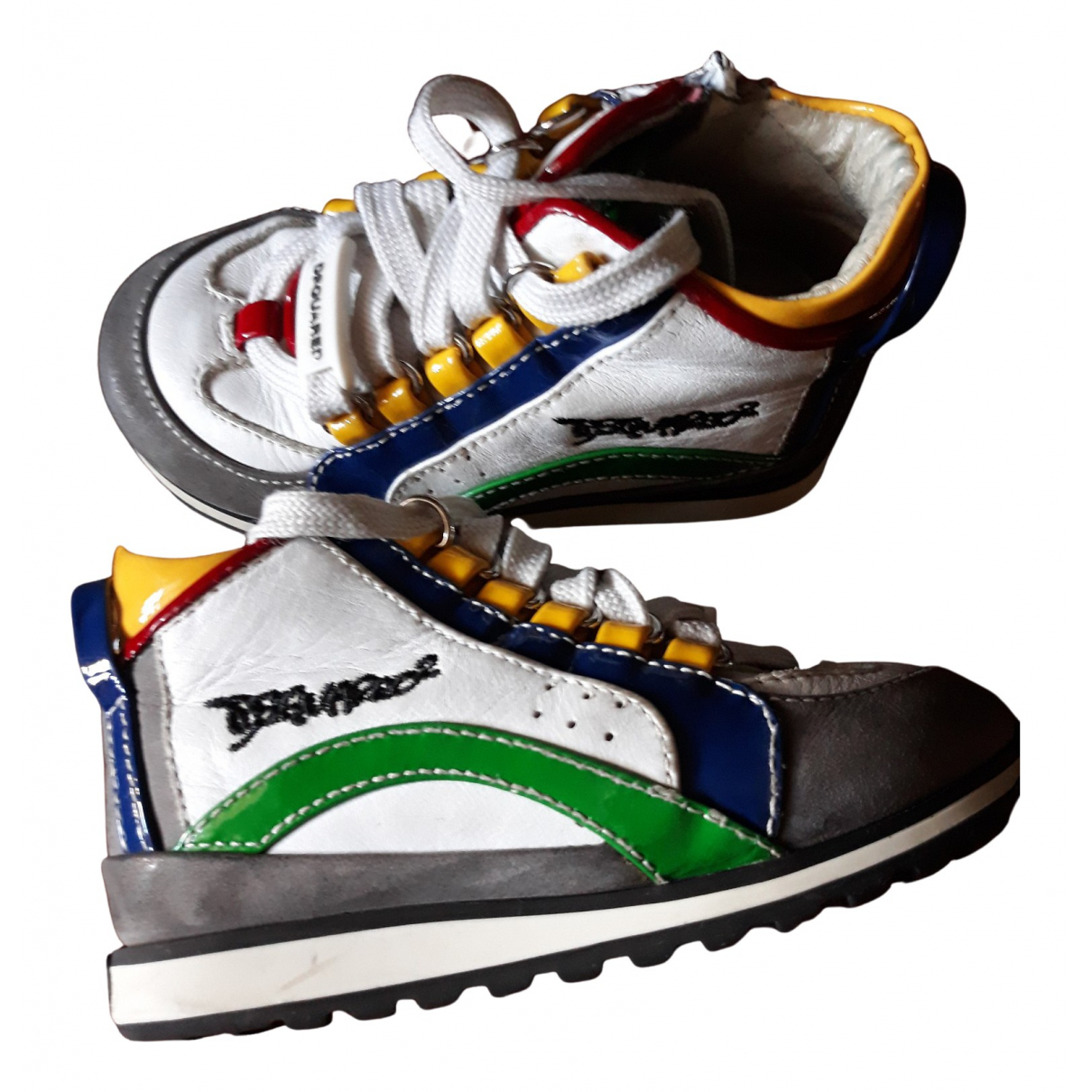 Zapatos de Cuero Dsquared2