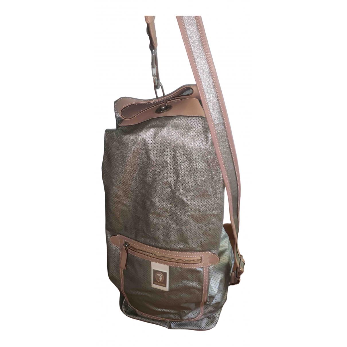Trussardi \N Silver Travel bag for Women \N