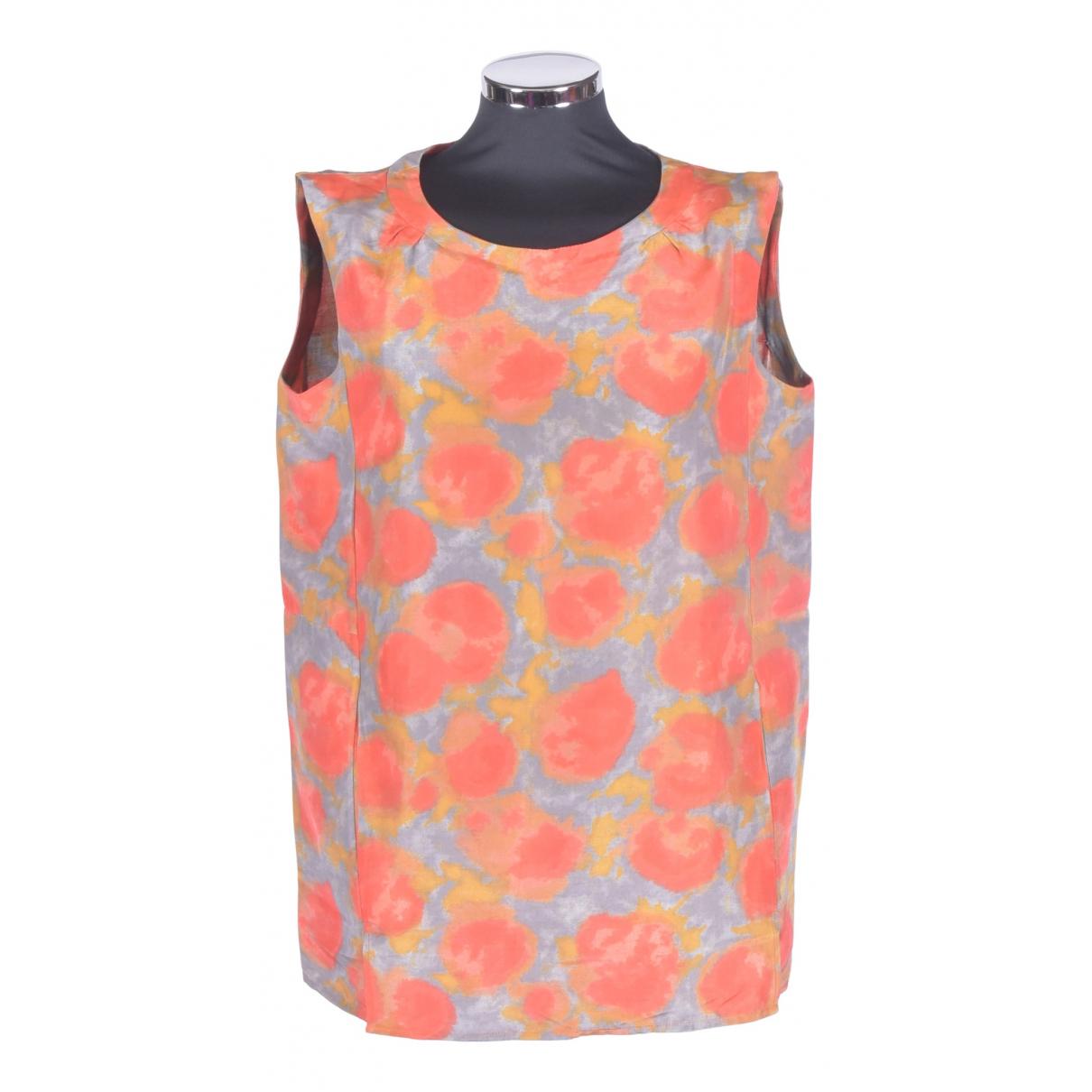 Marni - Top   pour femme en coton - orange