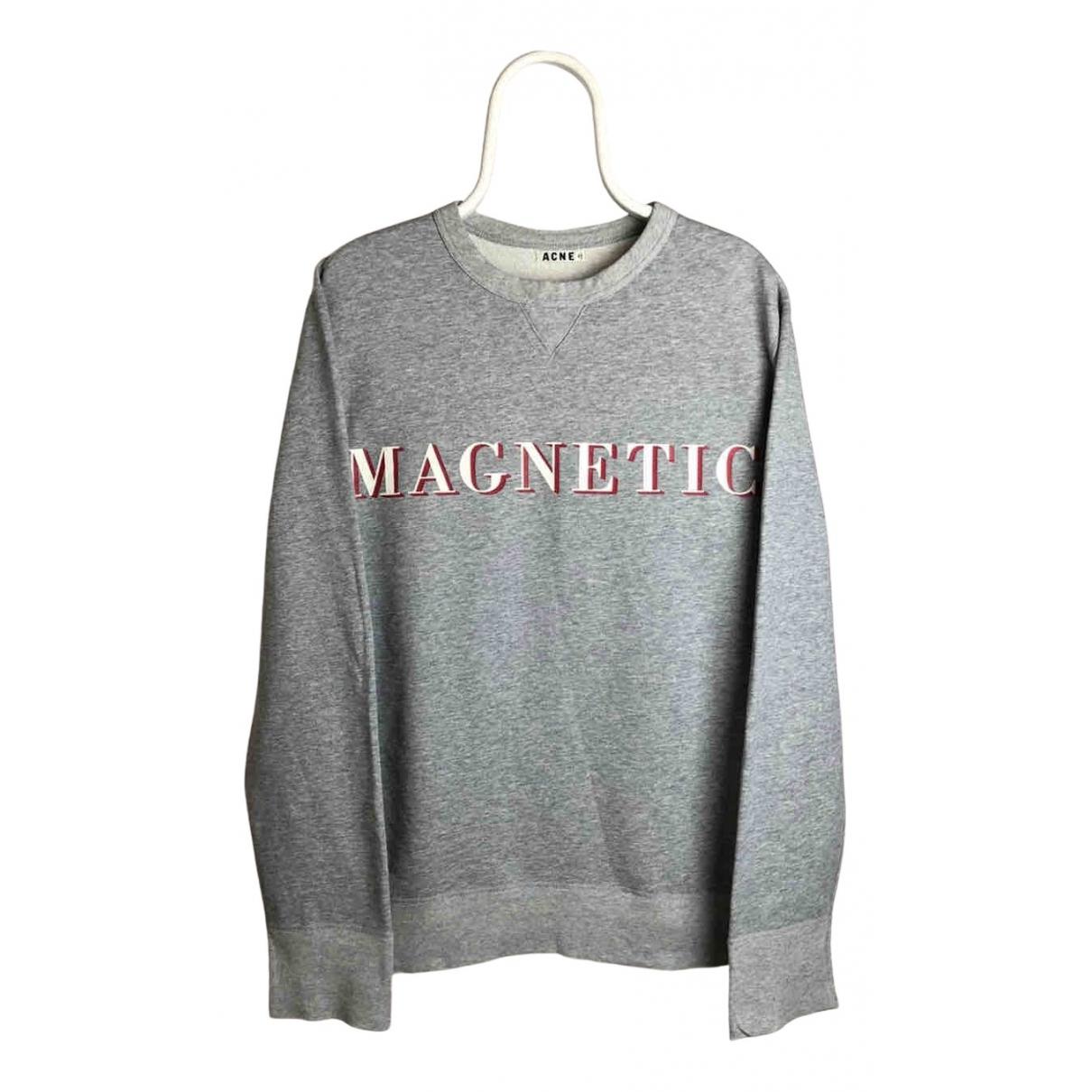 Acne Studios N Grey Cotton Knitwear & Sweatshirts for Men XL International