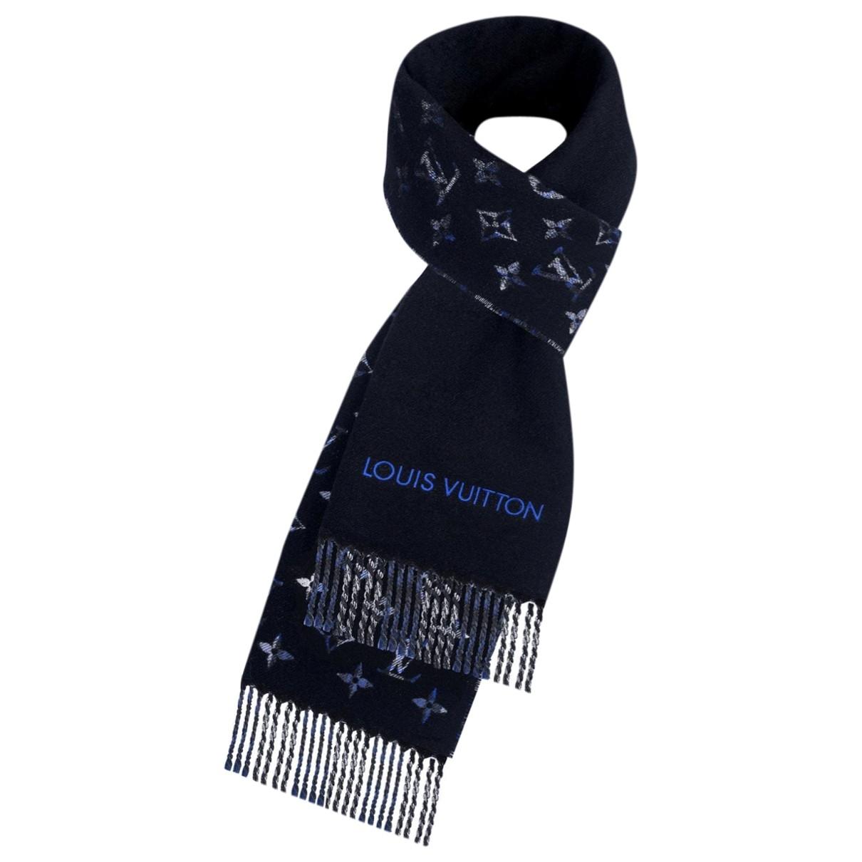 Louis Vuitton - Cheches.Echarpes   pour homme en cachemire - bleu