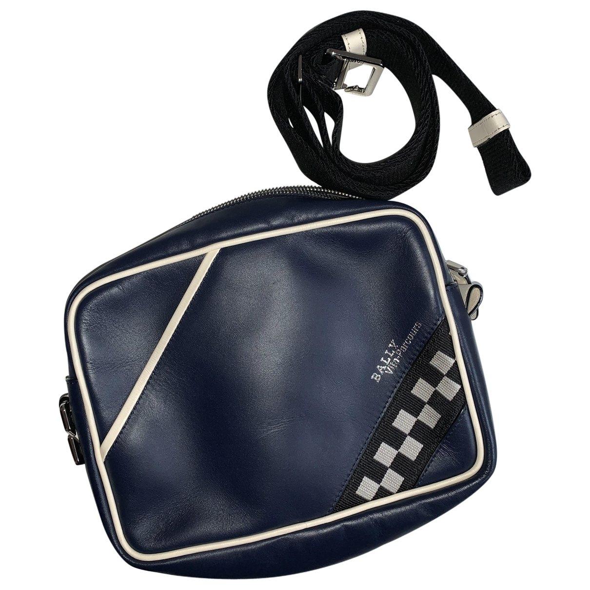 Bally \N Taschen in  Marine Leder