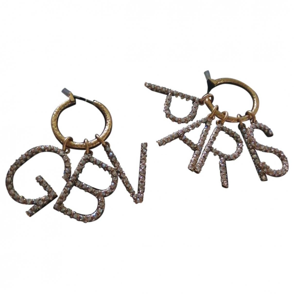 Giambattista Valli - Boucles doreilles   pour femme en metal - dore
