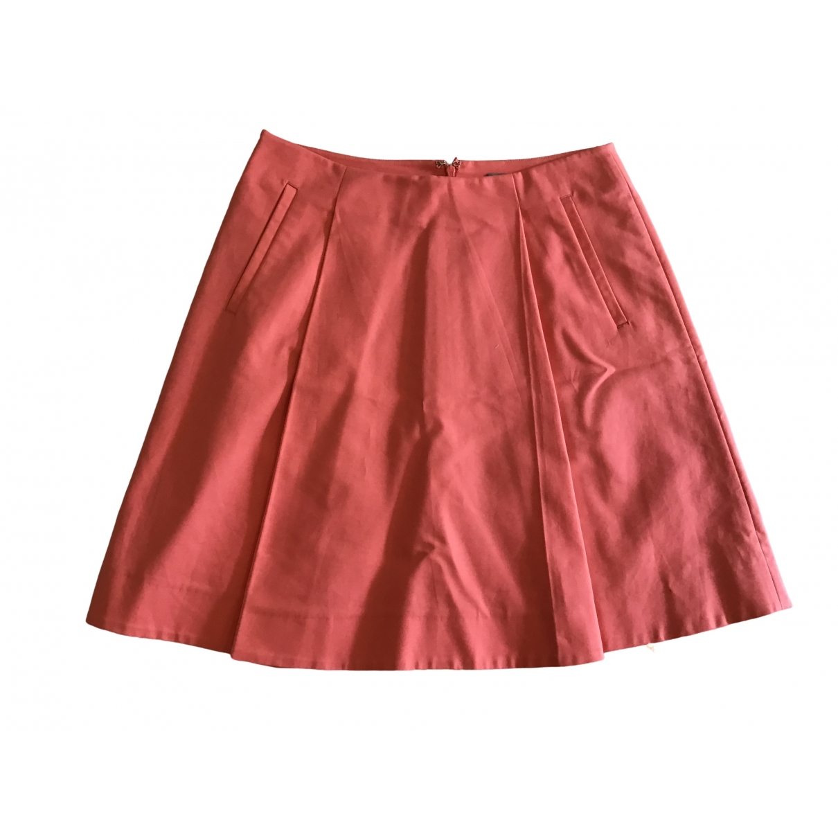 Cos \N Pink Cotton skirt for Women 36 FR
