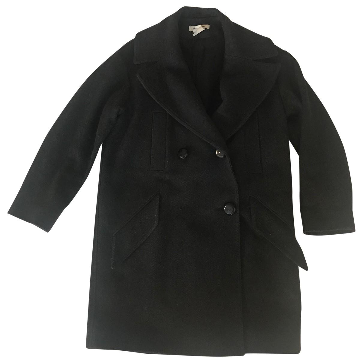 Isabel Marant Pour H&m \N Grey Wool coat for Women 34 FR