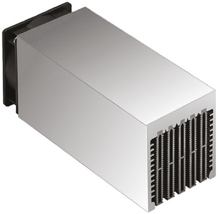 Fischer Elektronik Heatsink, Universal Rectangular Alu with fan, 0.28K/W, 100 x 80 x 83mm