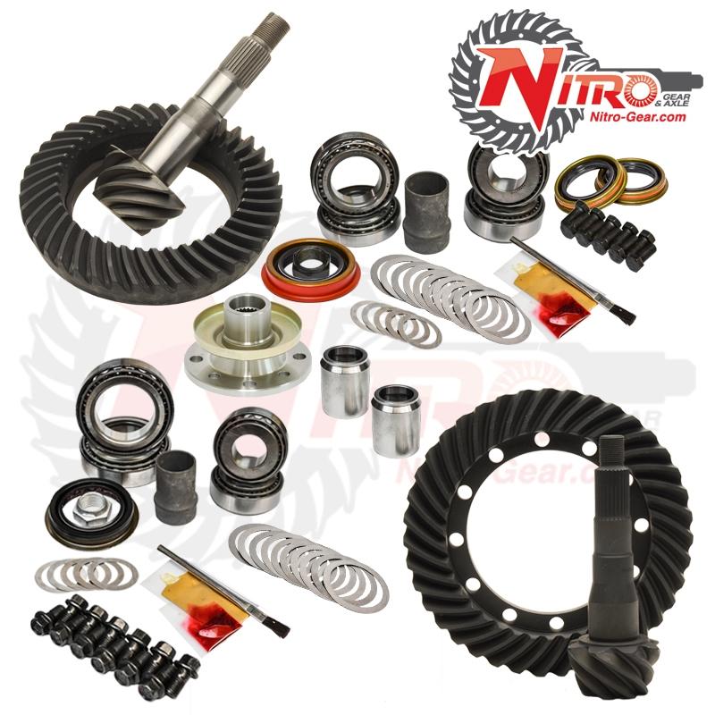 91-97 Toyota 80 Series W/E-Locker 4.10 Ratio Gear Package Kit Nitro Gear and Axle