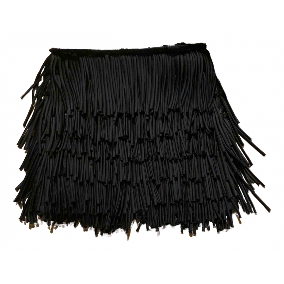 Pierre Balmain N Black Silk skirt for Women 40 IT