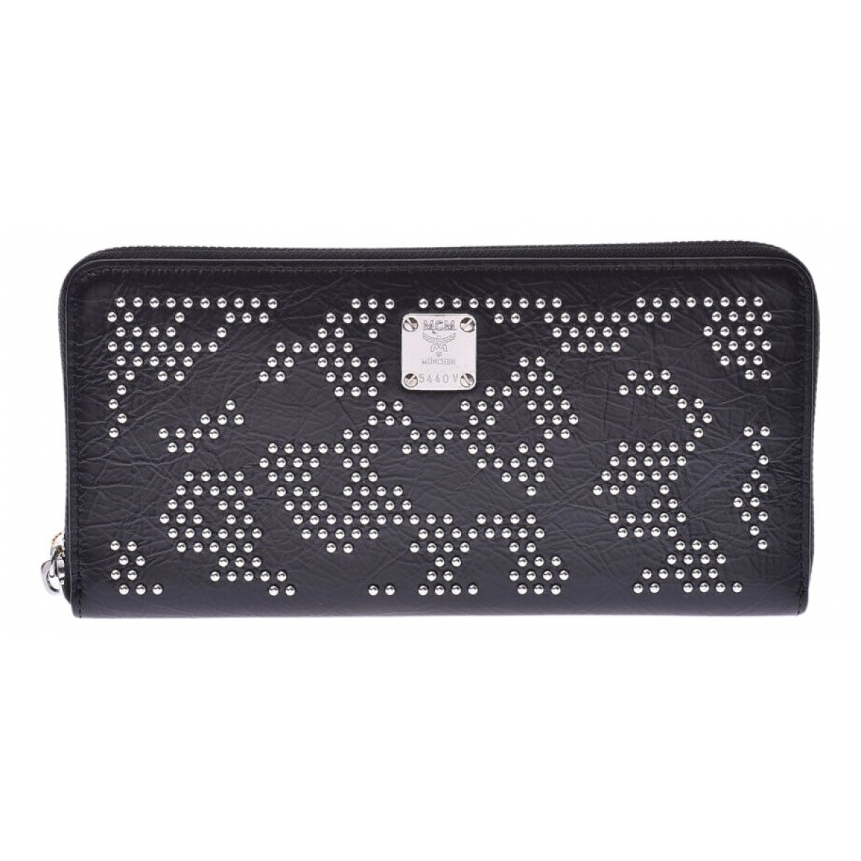 Mcm \N Black Cloth wallet for Women \N